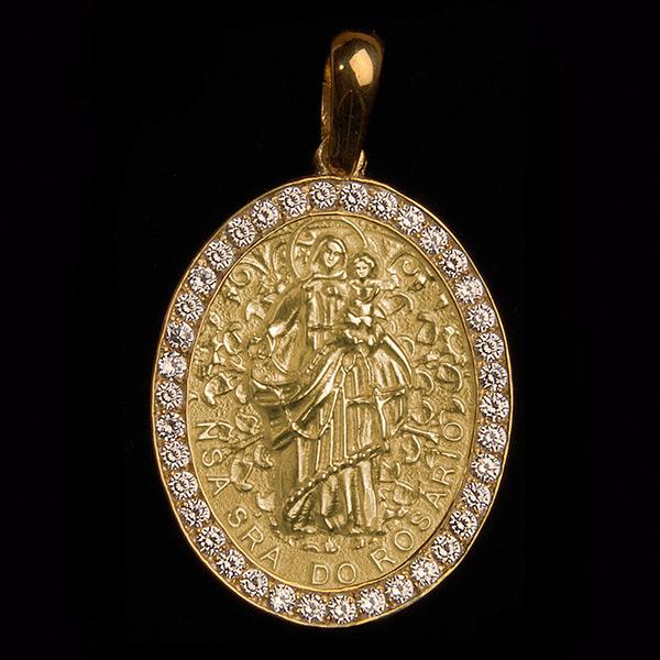 Nossa Senhora do Rosário Diamante Ouro